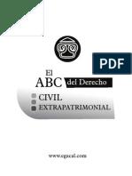 El ABC Del Derecho Extrapatrimonial