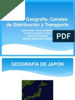JAPÓN - GEOGRAFIA, CANALES DE DISTRIBUCION Y TRANSPORTE