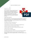 Manual de Primero Auxilios