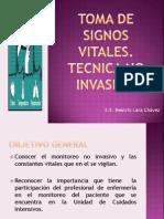5.-Toma de Signos Vitalescon Tecnica No Invasiva