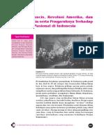 9. Revolusi Perancis, Revolusi Amerika Dan Revolusi Rusia Serta Pengaruhnya Terhadap Pergerakan Nasional Di Indonesia