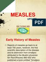 Measles update