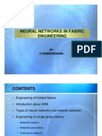 Neural Networks in Fabric Engineering