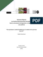 """""""Envejecimiento e institucionalidad para el cuidado de las personas AM Ponencia-SandraHuenchuan"""