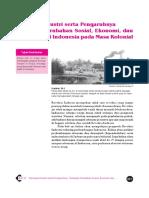 10. Revolusi Industri Serta Pengeruhnya Terhadap Perubahan Sosial, Ekonomi Dan Demografi Di Indonesia Pada Masa Kolonial