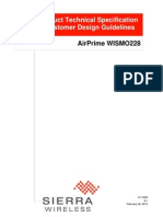 AirPrime WISMO228 Product Technical Specification and Customer Design Guidelines - Rev8.1