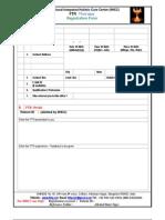 FTR Registration Form