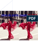 robes de soirée rouge en 2013