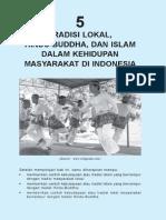 5. Tradisi Lokal, Hindu-Budha Dan Islam Dalam Kehidupan Masyarakat Indonesia