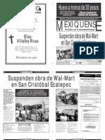 Versión impresa del periódico El mexiquense 30 agosto 2012