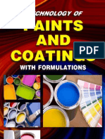 Technology of Paints & Coatings With Formulations