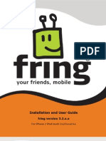 Fring User Guide iPhone