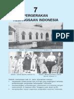 7. Pergerakan Kebangsaan Indonesia
