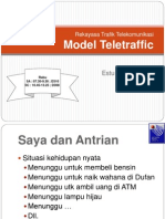 Pertemuann9.Model Teletraffic