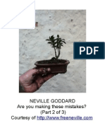 Neville Goddard PDF - Are You Making These Mistakes 2
