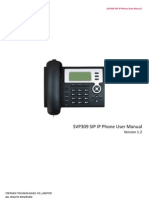 SVP309 SIP Phone User Manualx