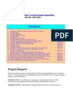Copper based project reports