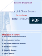Indian Eco Service Sector MMM II Sem 2 Lecture