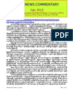 PDC Monthly News Commentary - July 2012