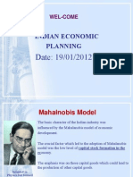 Indian Economic Planning 3 Lecture