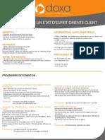 CSERVICE - Développer un état d'esprit orienté client