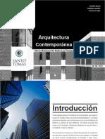 arquitectura comtemporanea