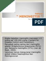 presentasi meningitis