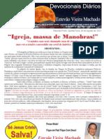 IGREJA, MASSA DE MANOBRAS!