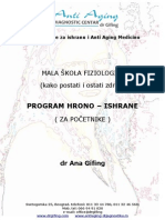 Program Hrono Ishrane