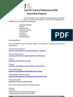ICD Internship