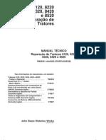 reparações e testes-TR8000
