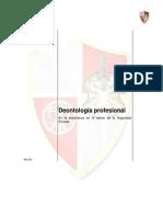 Deontología profesional en la docencia en materia de seguridad