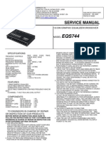 Clarion Servisemanual_EQS744 Audio Car