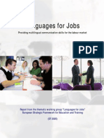 Languages for Jobs Report En