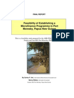 Ginigoada Feasibility Study
