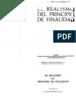 Garrigou Lagrange, Reginald - El Realismo Del Principio de Finalidad