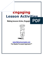 Fun Starter Activities, Energisers, Fill-Ins and Reviews