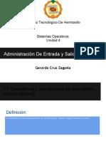 Sistemas Operativos-Administración De Entrada y Salida