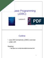 Slides 5 JDBC