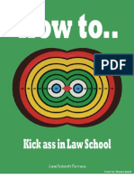 How to Kick Ass in Law School