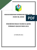 DOKUMENTASI MTQ 2012