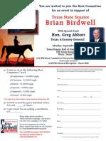 Brian Birdwell Fundraiser