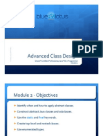 Module 02 - Advanced Class Design