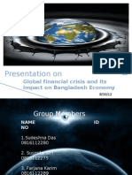 Global Financial Crisis and Its Impact on Bangladesh Economy (premier university)