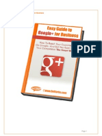 InBlurbs eBook - Easy Guide to Google+ for Business