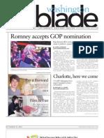 Washingtonblade.com - Volume 43, Issue 34 - August 24, 2012