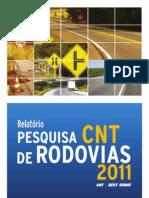 Boletim Pesquisa CNT de Rodovias 2011[1]
