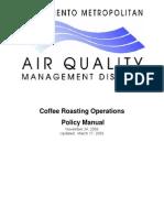 Coffee Roasting Manual
