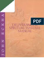 Deliverance and Spiritual Warfare Manual John Eckhardt