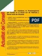 Actualitat Conselleria Governació 30-08-2012